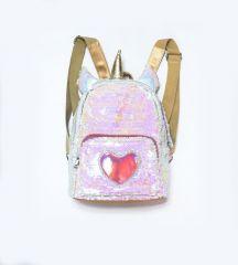Рюкзак «Мечта единорога» из пайеток