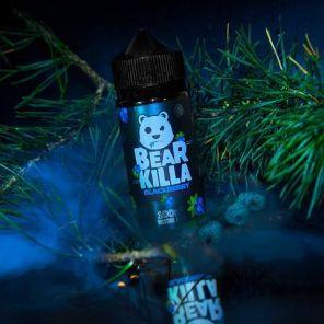 Е-жидкость Bear Killa Blackberry, 100 мл.