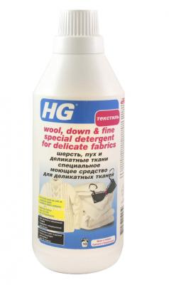 HG Специальное моющее средство для деликатных тканей, шерсти и пуха 750 мл