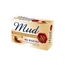 Массажное мыло с экстрактом масла Ши и целебными грязями Mud Mukunghwa 100гр