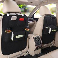 Органайзер для спинки сиденья авто Vehicle Mounted Storage Bag, Цвет: Черный