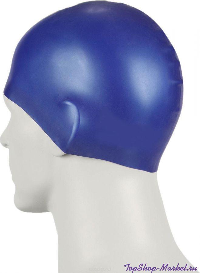 Силиконовая шапочка для плавания Afiter, Цвет: Чёрный
