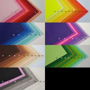 Фетровые пяточки 25мм, цвет № 09