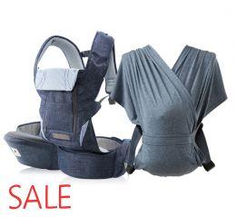Pognae No5 Plus + Слинг Pognae Shawl Blue