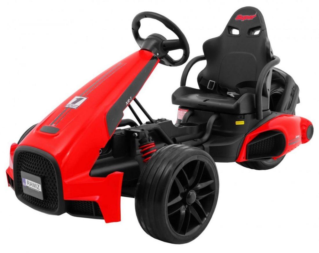 Гоночный автомобиль болид XR-1 красный