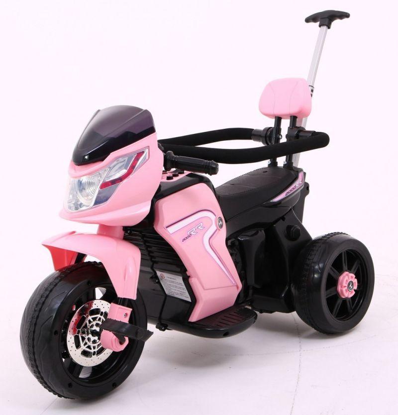 Детский электро трицикл 3в1 PA.HL108.ROZ розовый