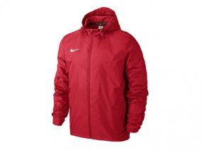 Ветровка Nike Team Sideline Rain Jacket красная