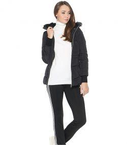 Женская куртка adidas Womens Long Down Jacket чёрная