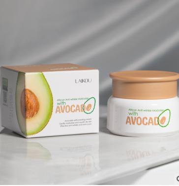 Увлажняющий крем LAIKOU  с авокадо и маслом ши .(6152)