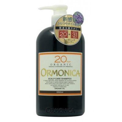 Органический шампунь для ухода за волосами и кожей головы Ormonica