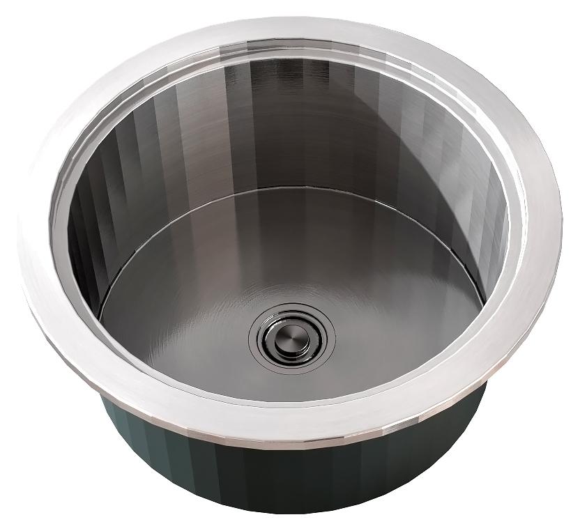 Врезная кухонная мойка ZorG INOX ZR-470