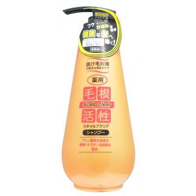 JUNLOVE SCALP CLEAR SHAMPOO Шампунь для укрепления и роста волос, против перхоти,  500ml