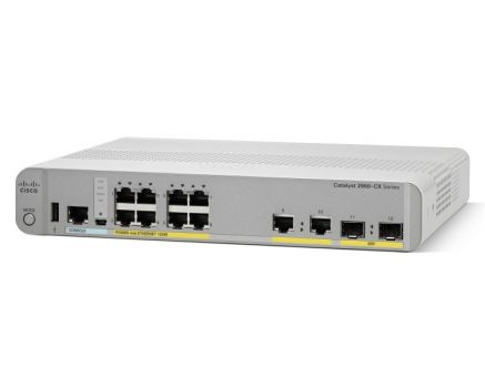 Коммутатор Cisco Catalyst WS-C2960CX-8PC-L