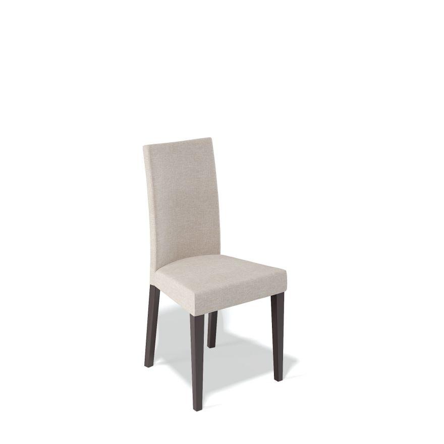 Деревянный стул KENNER 101М, с мягким сиденьем и спинкой, цвет венге - бежевый