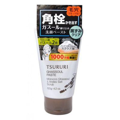 BCLAB TSURURI PORE GHASSOUL PASTE Пена - скраб для умывания и очищения пор с вулканической глиной 120г