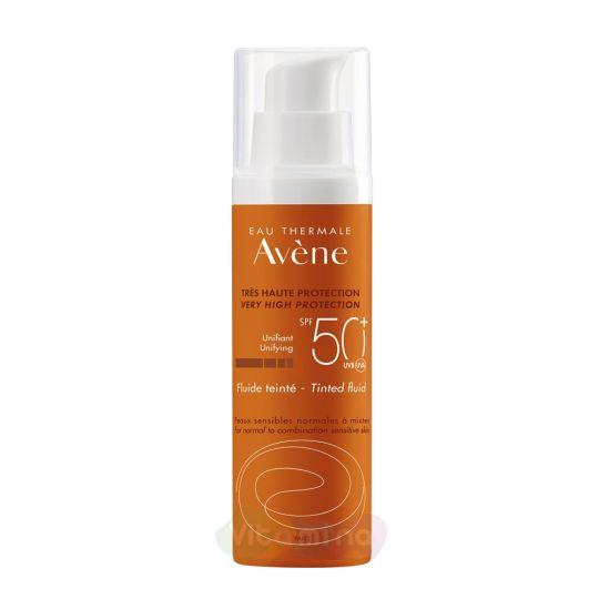 Avene Флюид солнцезащитный с тонирующим эффектом SPF50+