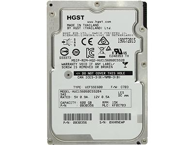 Жёсткий диск HGST Enterprise HDD 2.5 SAS 600Gb, 15000rpm, 128MB buffer HUC156060CSS204