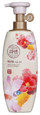 LG ReEn Baekdanhyang Парфюмированный шампунь для блеска волос 500 мл