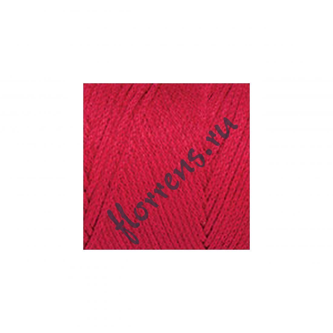 Пряжа Yarnart Macrame cotton / 772 красный