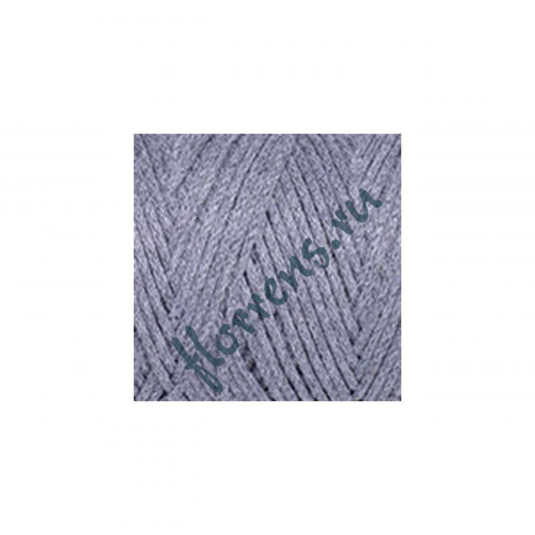 Пряжа Yarnart Macrame cotton / 774 серый меланж