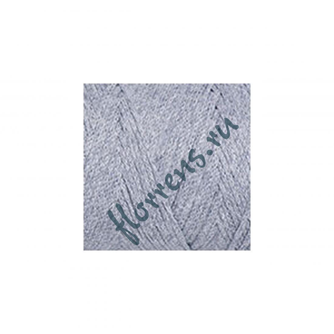Пряжа Yarnart Macrame cotton / 783 св. серый меланж