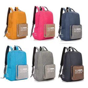 Складной туристический рюкзак New Folding Travel Bag Backpack