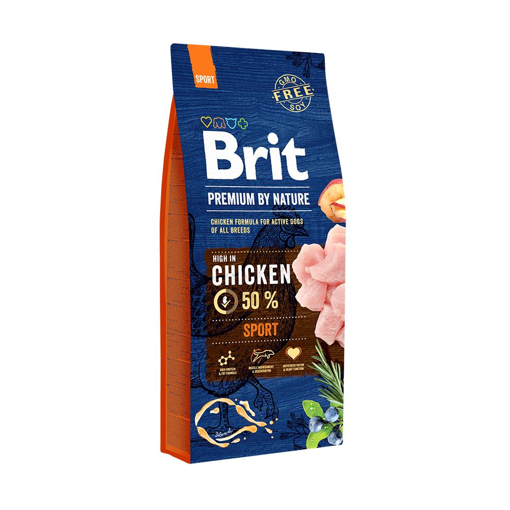 Для собак всех пород с высокими затратами энергии BritPremiumbyNatureSport
