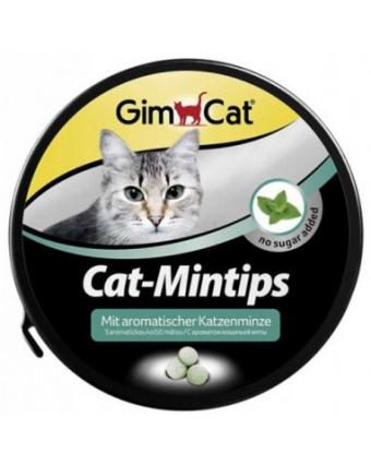 Витамины для кошек GimPet (Джимпет) Cat-Mintis с кошачьей мятой 330таб
