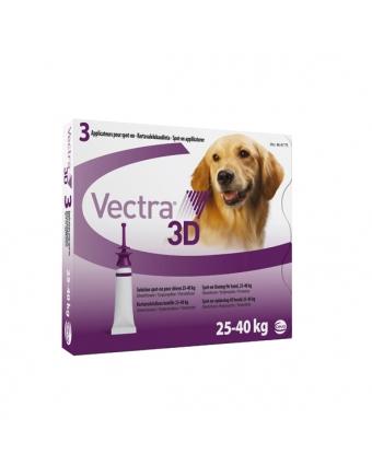 Инсектоакарицид Вектра 3D капли для собак от 25 до 40 кг 1 пипетка