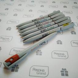 ручки из ТЕТРА ПАКа с логотипом