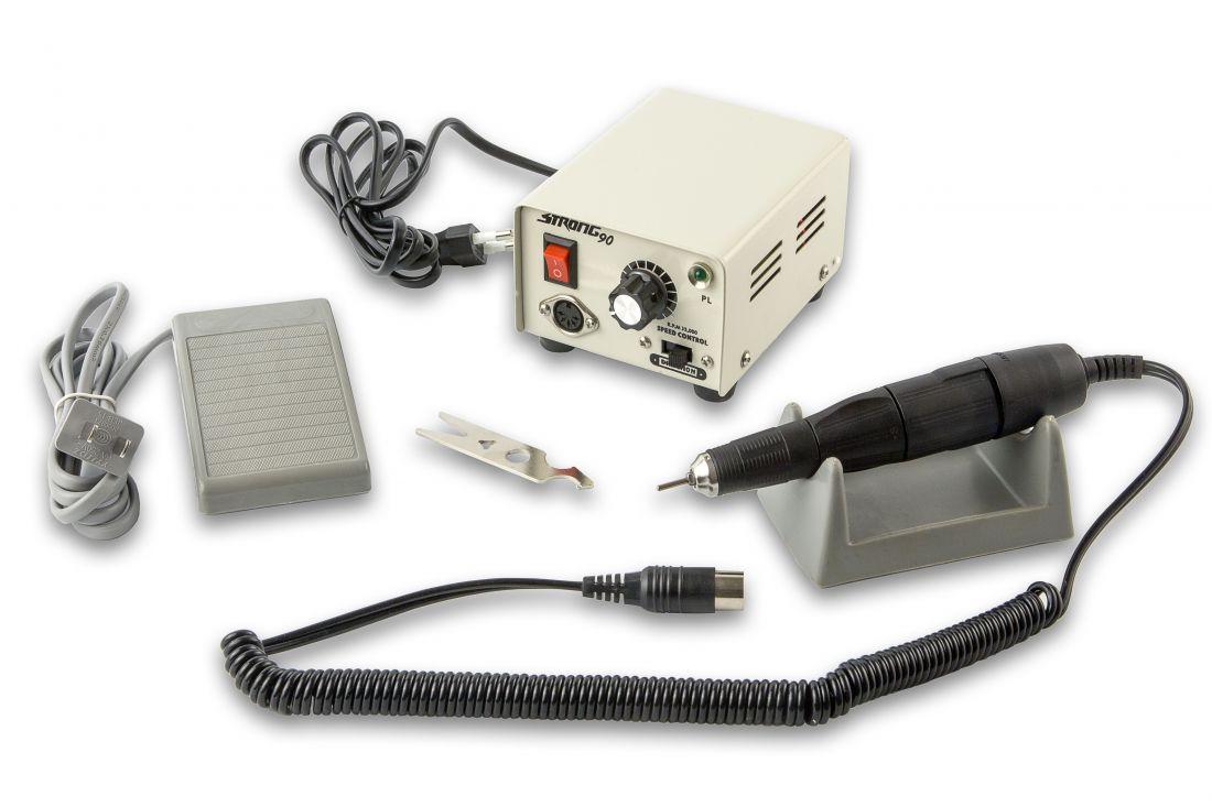 Аппарат для педикюра и маникюра STRONG 90 (С педалью)  до 35000т. оборотов 65W