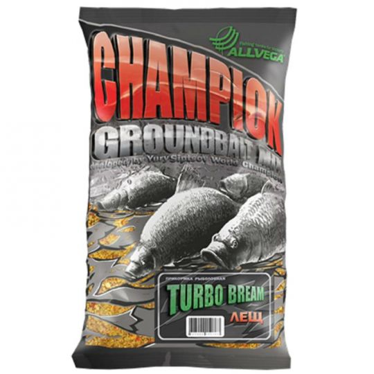 "Прикормка ALLVEGA ""Champion Turbo Bream"" 1кг ТУРБО ЛЕЩ"