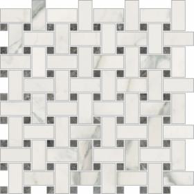 Мозаика NovaBell IMM Nat.Trama Apuano Bianco 30×30