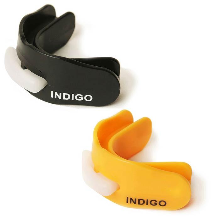 Капа двухчелюстная термопластичная INDIGO MD-01-TP в контейнере
