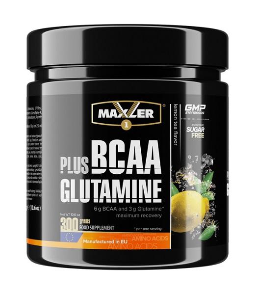 BCAA+Glutamine  от Maxler, 300 гр.