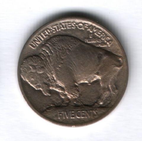 5 центов 1913 года США AUNC