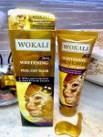 Золотая маска для лица Wokali Whitening Gold Caviar , 130 м