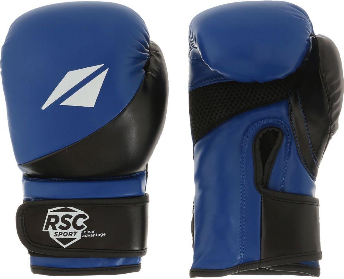 Перчатки боксерские RSC FLEX BF BX 023 черно-синие