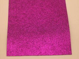 """Фоамиран """"глиттерный"""" Китай, толщина 2 мм, размер 20x30 см, цвет № Ф013 (1 уп = 10 листов)"""