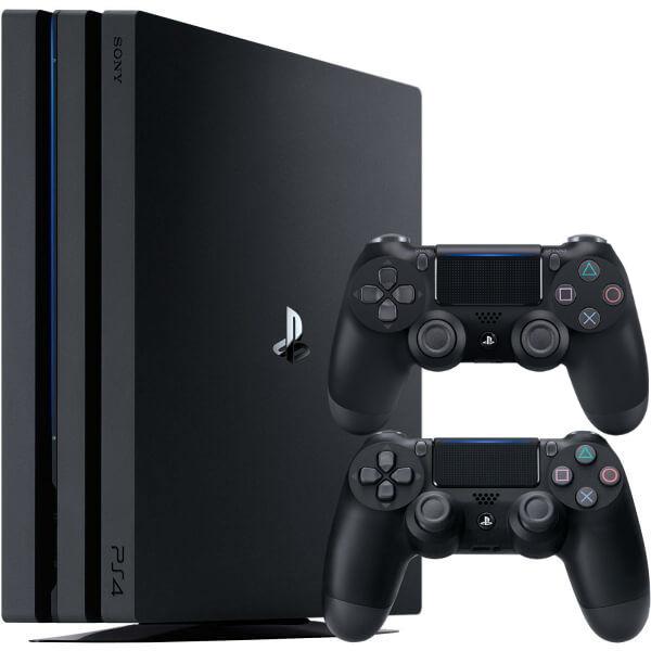 Игровая приставка Sony Playstation 4 Pro 1TB (CUH-7216B) + DualShock 4 V2