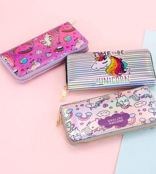 Бумажник на молнии «Unicorn»