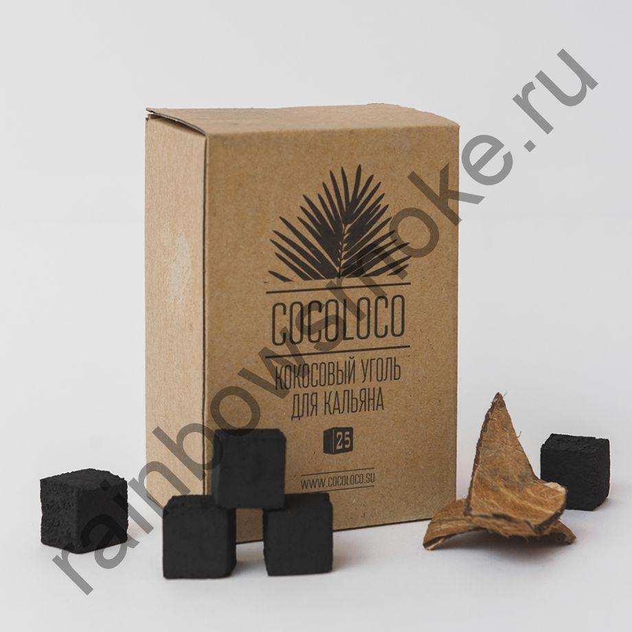 Уголь кокосовый для кальяна Cocoloco 25мм (72шт)