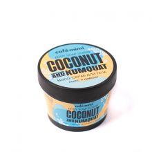 mimi СТАКАНЫ Мыло-скраб для тела кокос и кумкват, 110 мл
