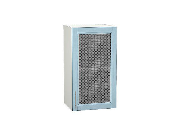 Шкаф верхний Сканди В409 со стеклом Sky Wood