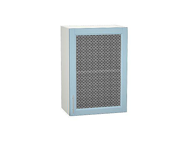 Шкаф верхний Сканди В509 со стеклом Sky Wood