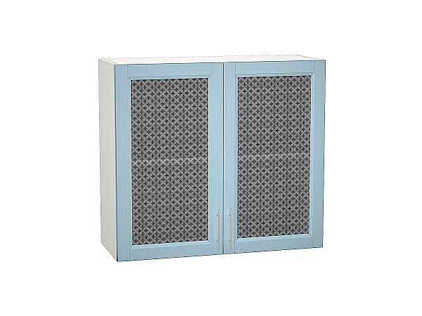 Шкаф верхний Сканди В809 со стеклом Sky Wood