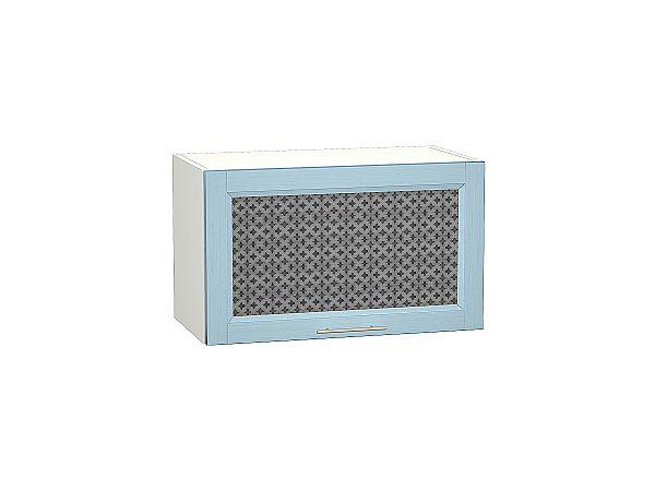 Шкаф верхний Сканди ВГ600 со стеклом Sky Wood