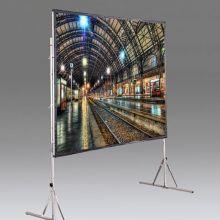 """Мобильный проекционный экран Draper Cinefold NTSC (3:4) 244/96"""" 147*201 XT1000V"""