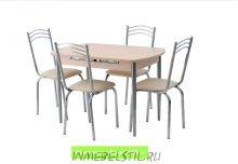Стол Вегас (раскладной) + 4 стула