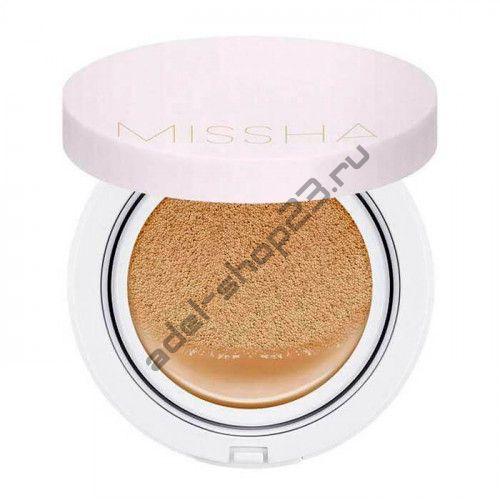 MISSHA - крем-кушон с запаской для стойкого макияжа SPF50+ PA+++ Magic Cushion Cover Lasting